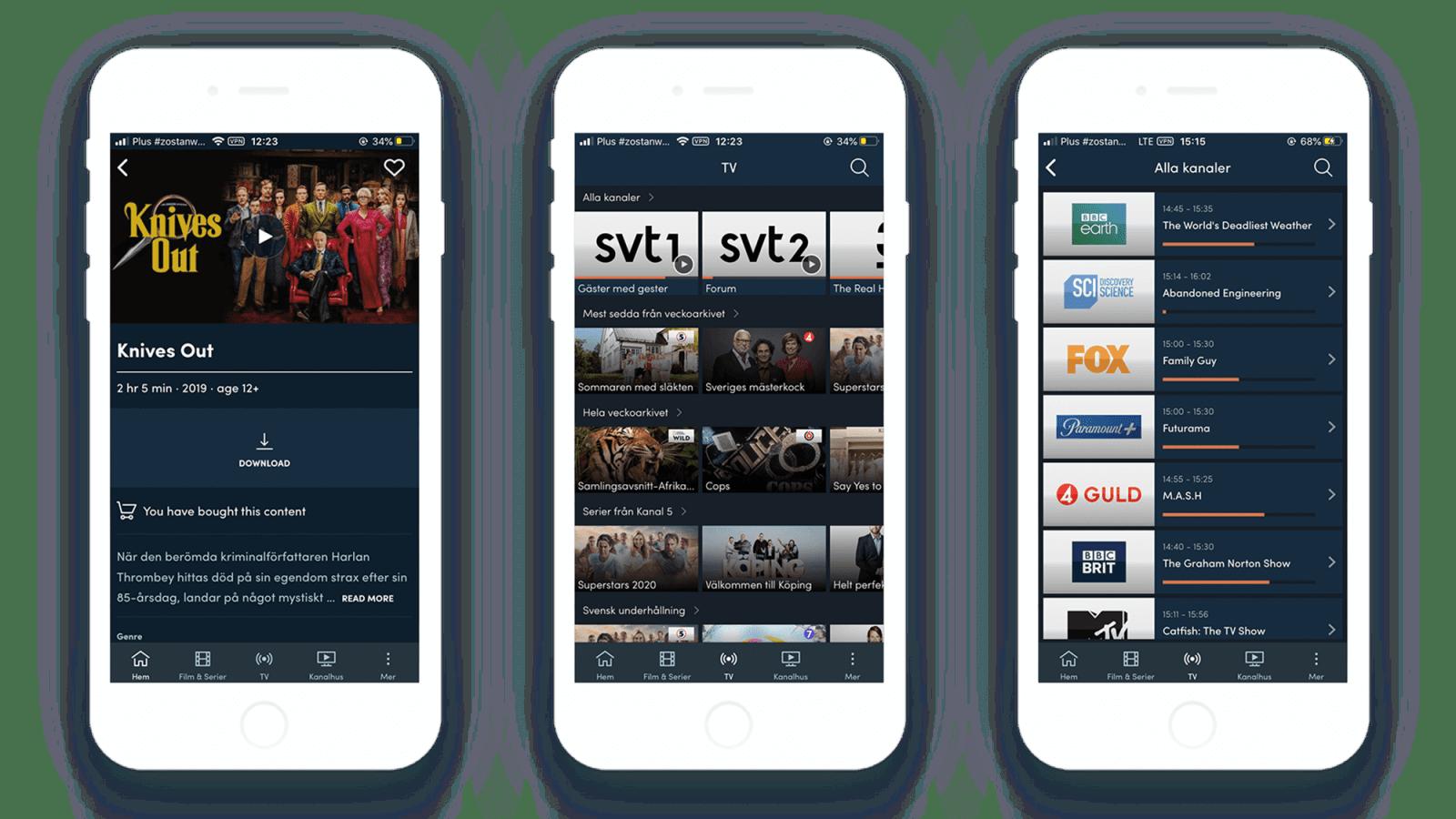 Go Canal Digital App